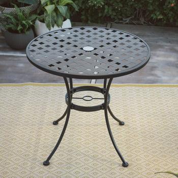 Woodard Belham Living Capri Wrought Iron Bistro Patio Dining Table