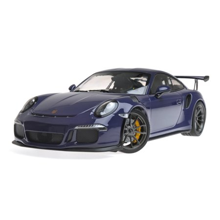 2015 Porsche 911 GT3 RS Ultra Violet Limited Edition to 1,002 pieces Worldwide 1/18 Diecast Model Car by