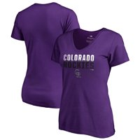 8a6434b34 Product Image Colorado Rockies Fanatics Branded Women s Fade Out Plus Size  V-Neck T-Shirt -
