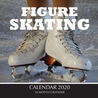 Figure Skating Calendar 2020: 16 Month Calendar (Paperback)