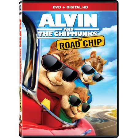 Alvin And The Chipmunks: The Road Chip (DVD + Digital