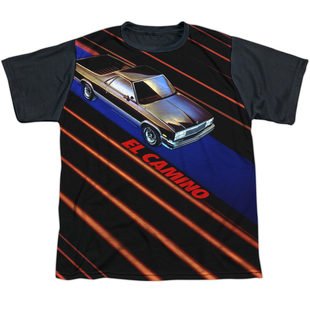 Chevy Laser Camino Big Boys Sublimation Shirt