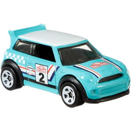 Hot Wheels Backroad Rally Mini Cooper S Challenge Vehicle