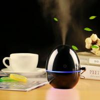 Portable Mini Home USB Humidifier Purifier Atomizer Air Purifier Diffuser Black