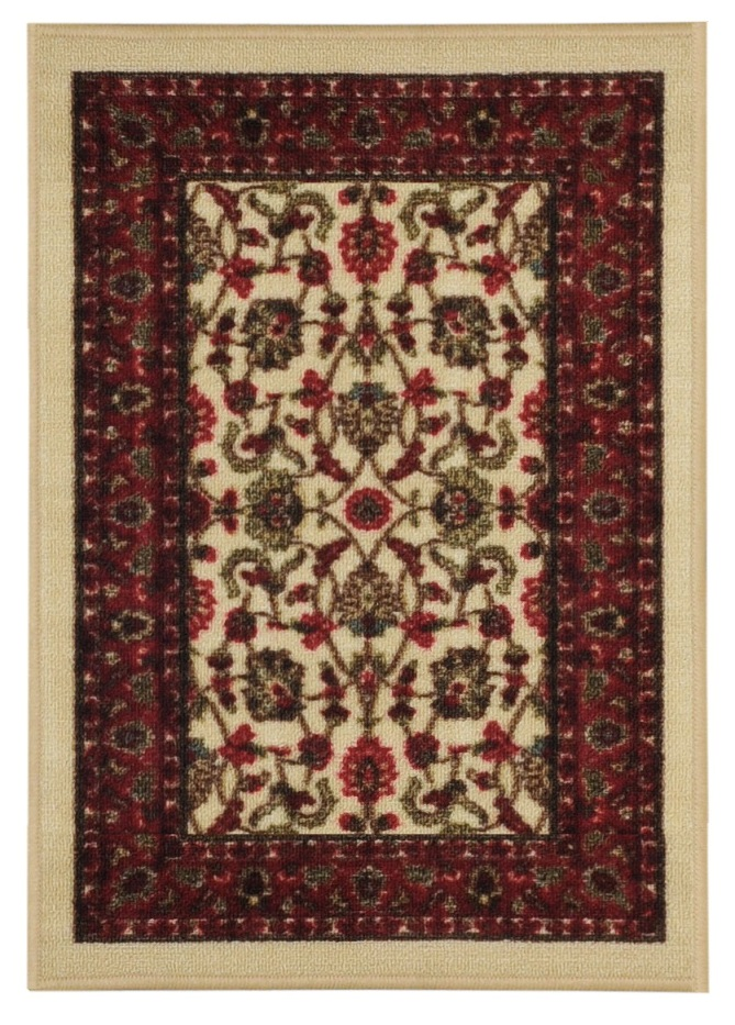 Maxy Home Hamam Collection HA-5082 (Non-Skid) Rubber Back Doormat 18-inch-by-31-inch 1'x2' by Rugnur