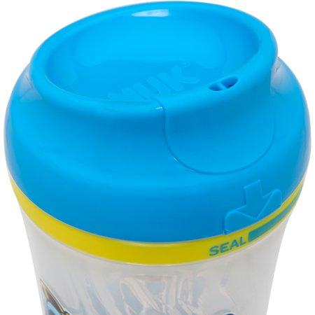 Gerber Graduates 9-oz Advance Developmental Insulated Cup-Like Rim Cup, Set of 4, Girl Designs, BPA-Free