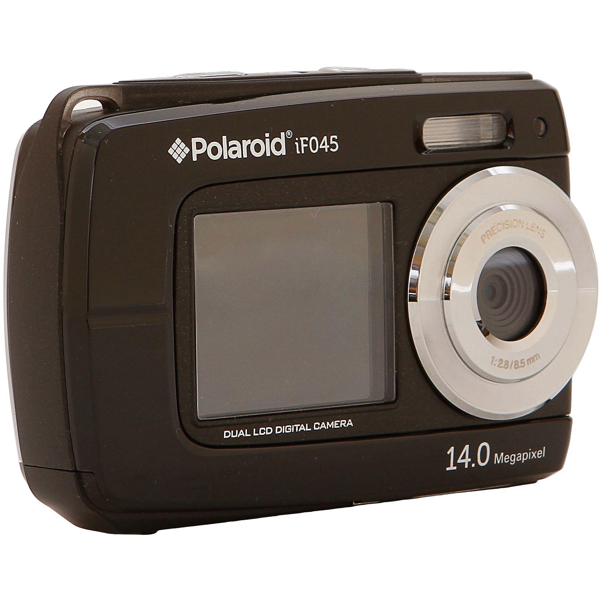 Polaroid iF045 14.1 MP 5x Zoom Dual Screen Waterproof Digital Camera (Available in multiple colors)