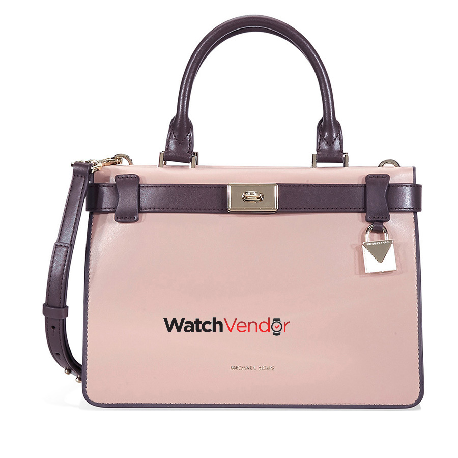 9fd10a60962e ... ireland michael kors tatiana small leather satchel pink purple 8e9d0  05ffd