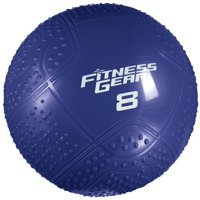 Fitness Gear 8 lb. Soft Medicine Ball Blue