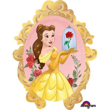 Disney Princess Belle Beauty and The Beast Character Foil Balloon (The Best Disney Characters)
