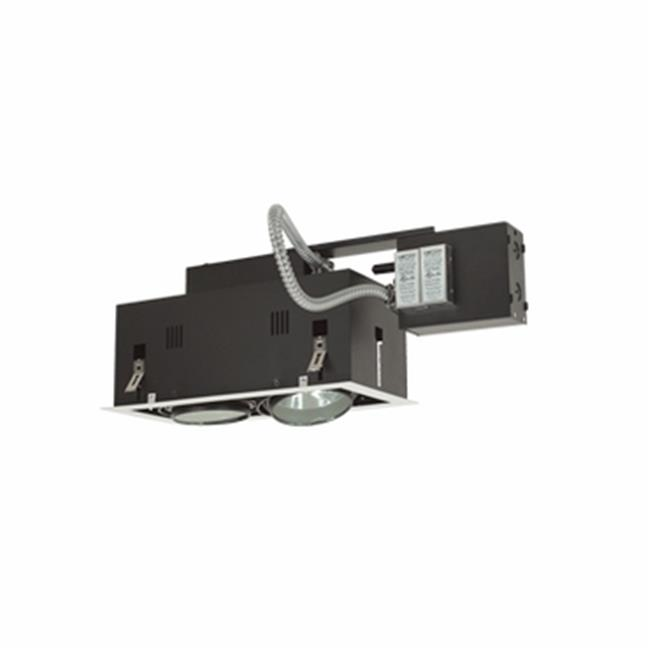Jesco Lighting MGRA175-2EWB 2 - Light Double Gimbal Linear Recessed Fixture Low Voltage - image 1 of 1