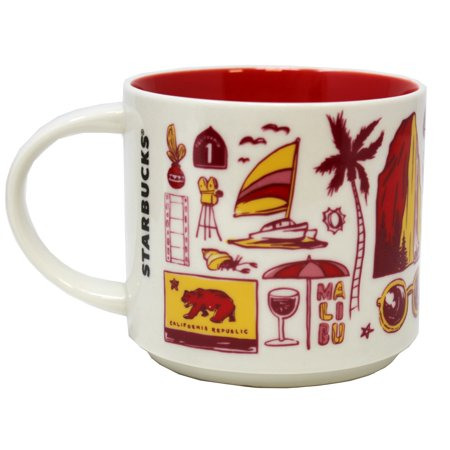 Starbucks Been There Series California Mug, 14 Oz (Mug California)