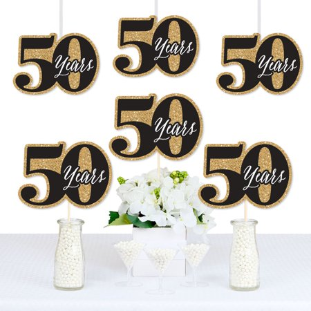 We Still Do - 50th Wedding Anniversary - Decorations DIY Anniversary Party Essentials - Set of 20