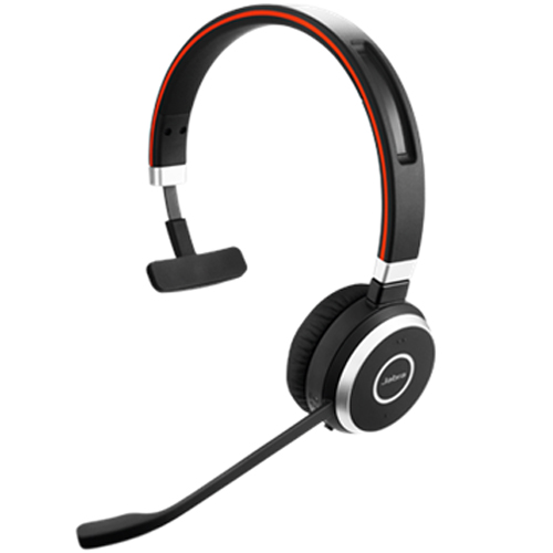 Jabra Evolve 65 Mono MS Wireless Headset 6593-823-309 for Voice & Music
