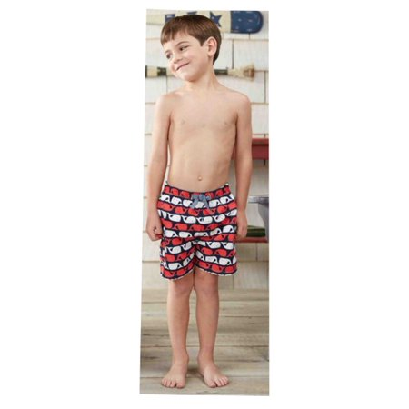 46eaadc631 In Fashion Kids - Baby Boys Whale Swim trunks 9-12 months - Walmart.com