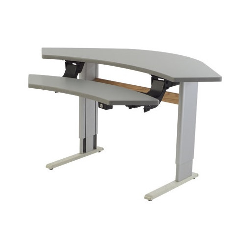 Populas Furniture 42'' W Infinity Adjustable Computer Tab...