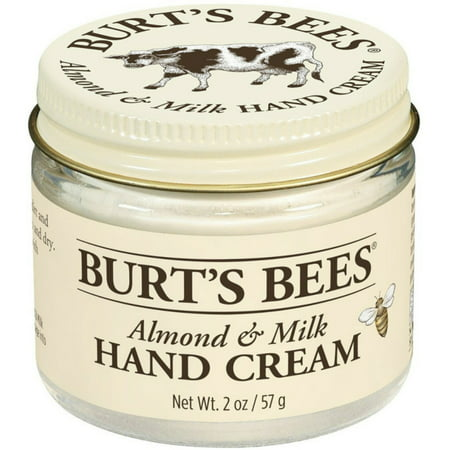 Burt's Bees Almond & Milk Hand Creme 2 oz (Pack of 4) Burts Bees Almond Milk
