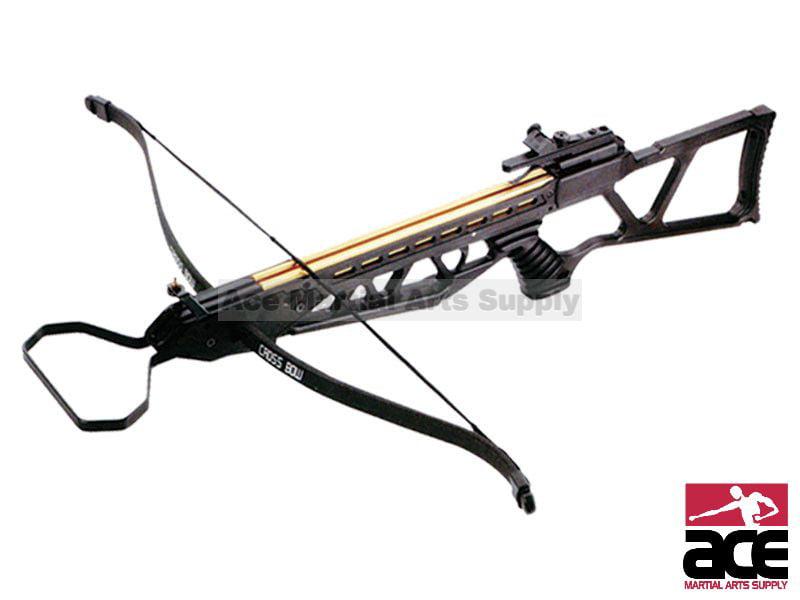 New ARCHERY HUNTING 185 FPS BLACK BOW Gun 120 LB CROSSBOW w  ARROWS BOLTS by