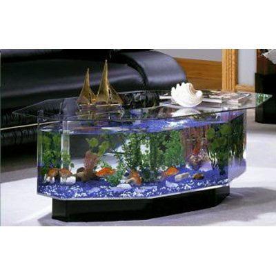 Aqua coffee table 28 gallon aquarium for Table basse aquarium