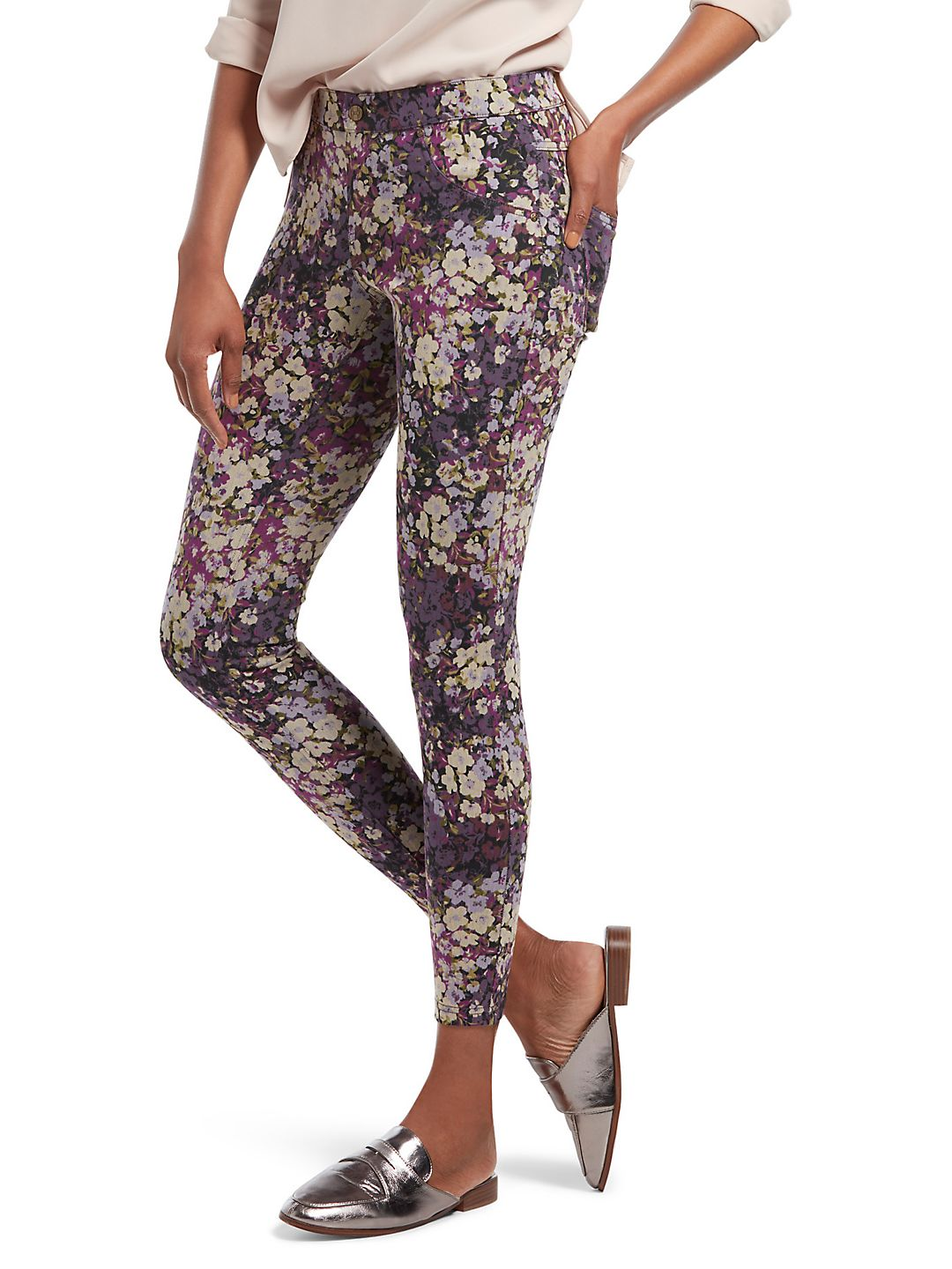 Forest Floral Essential Leggings