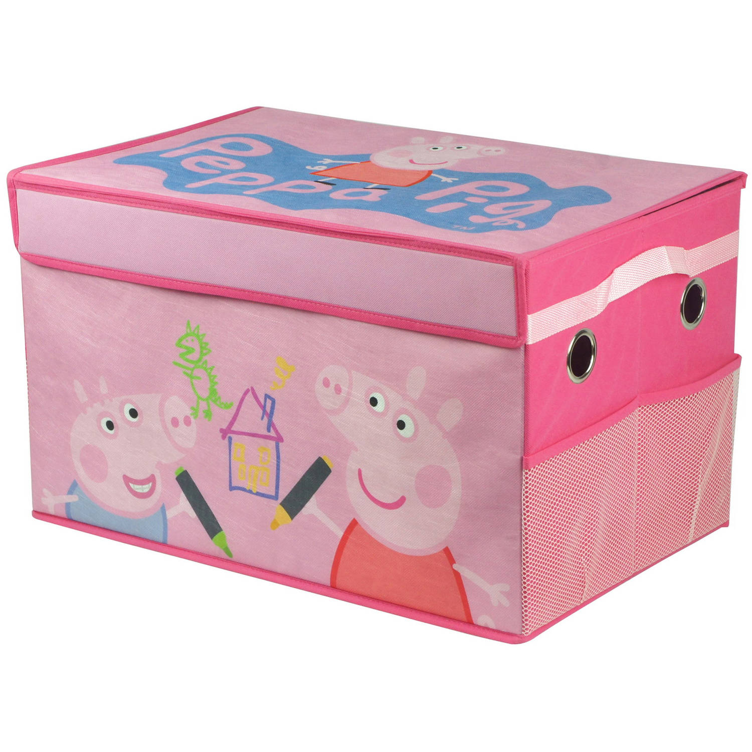 Peppa Pig Collapsible Toy Storage Trunk   Walmart.com