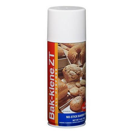 (Price/Case)Bak-Klene 14345 Bak-Klene Zt All Purpose Bakery Release And Pan Spray 6/14 oz.