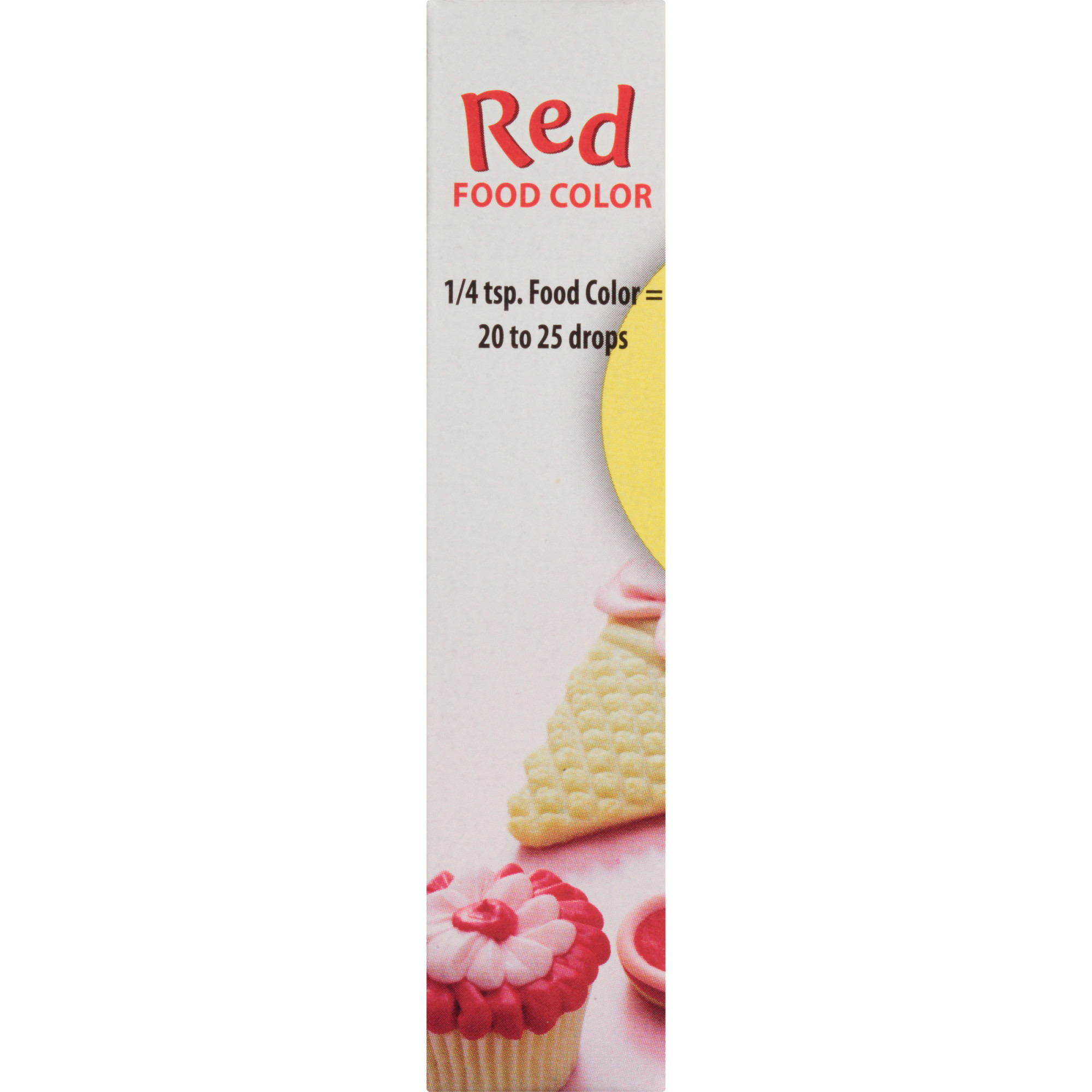 McCormick Classic Red Food Color, 1 fl oz Liquid Dye ...