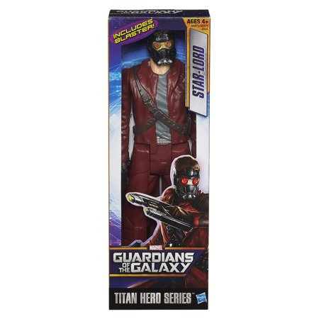 Marvel Guardians Of The Galaxy Titan Hero Series Star Lord 12   Action Figure