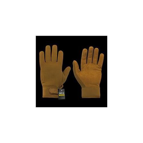 RapDom T13-PL-COY-05 Neoprene Patrol Glove, Coyote, 2X Large