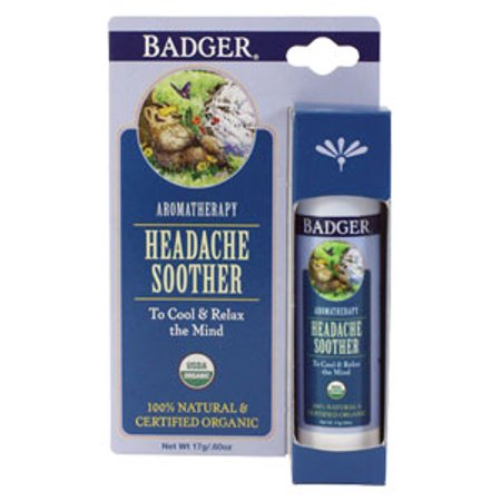 W S  Badger Company  Headache Soother  60 Oz Stick