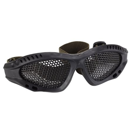Tactical Eyes Protection Plastic Goggles Safety Glasses for Shooting CS Game (Shooting Eye Glasses)