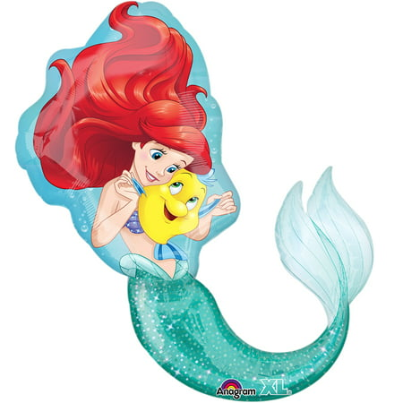 Little Mermaid Shaped Balloon, 17
