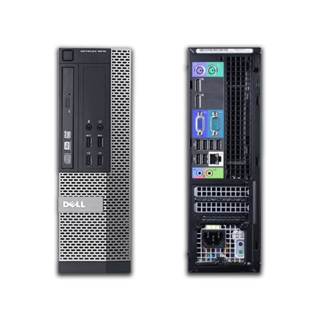 Dell OptiPlex 9020, Small Form Factor, Intel Core i7-4790 up to 4.00 GHz, 8GB DDR3, NEW 1TB SSD, DVD-RW, Wi-Fi, USB to HDMI Adapter, NEW Keyboard + Mouse, Microsoft Windows 10 Home 64-bit - image 3 of 3