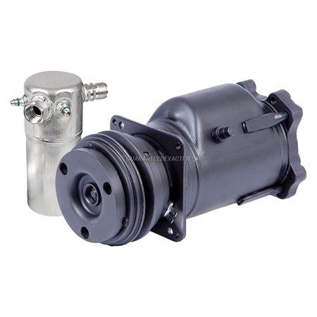OEM AC Compressor w/ A/C Drier For Buick Electra LeSabre Riviera & Estate (Buick Lesabre Estate Wagon)