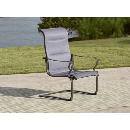 da2f71598ac3 COSCO Outdoor Living SmartConnect Padded Motion Patio Chairs, Gray, 2-Pack  - Walmart.com