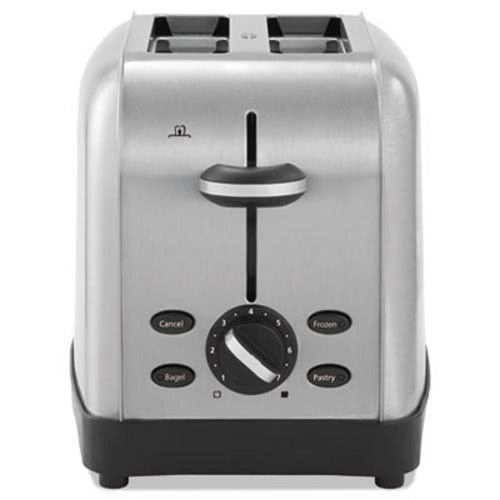 Oster Extra Wide Slot Toaster, 2-Slice, Stainless Steel (OSRRWF2S)