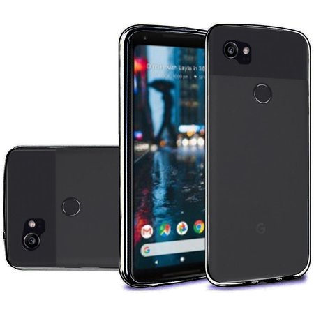 new product 3baa4 51ac7 Google Pixel 2 XL Case, by Insten TPU Rubber Candy Skin Transparent ...