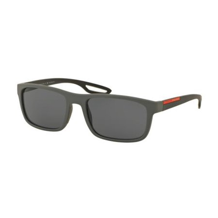 473f29f22e77 PRADA SPORT - PRADA SPORT Sunglasses PS 03RS UFK5Z1 Grey Rubber 56MM -  Walmart.com