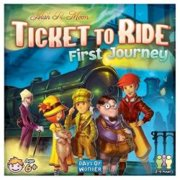 ASMODEE First Journey Ticket To Ride Kids Board Game