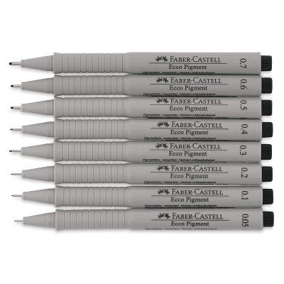Ruf zuerst begrenzter Preis großes Sortiment Faber-Castell Ecco Pigment Pens - Set of 8