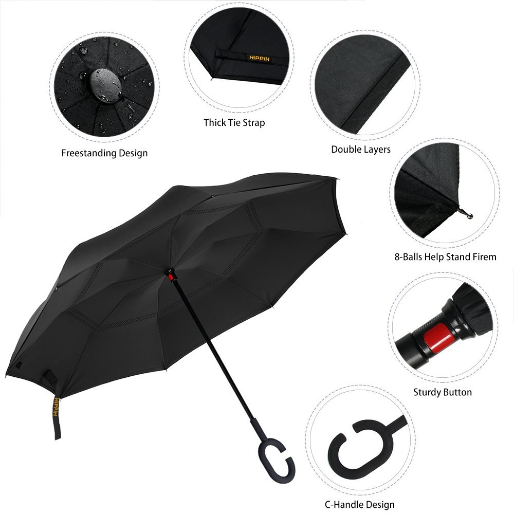 Best Inverted Umbrella High Detailed Solar System Poster Scientific Portable Compact Folding Umbrella Anti Uv Protection Windproof Outdoor Travel Women Art Umbrella Adult