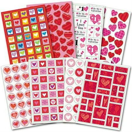 Valentine's Day Stickers 1000ct](Valentine Stickers)