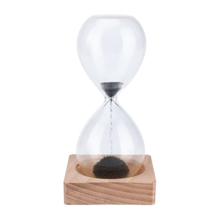 Magnetic Hourglass Sand Timer for Home Office School Desk Toys Decoration