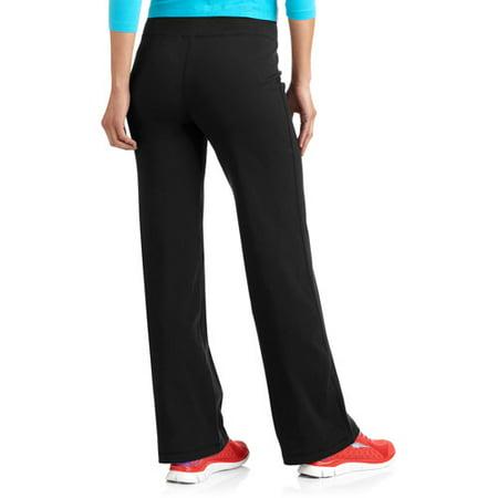 Danskin Now Women's Dri-More Core Bootcut Pants - Walmart.com