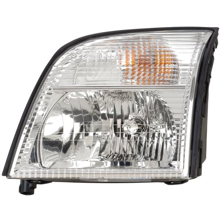 2002-2005 Mercury Mountaineer Driver Left Side Headlight Lamp Assembly (Mercury Mountaineer Headlight Headlamp)