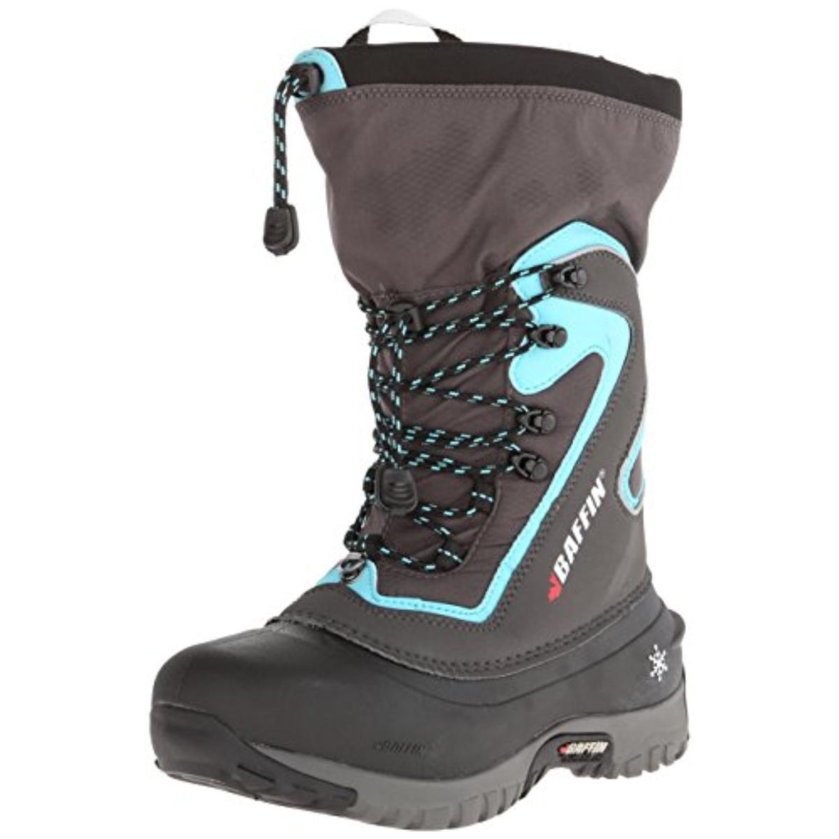 Baffin Womens Waterproof Colorblock Snow Boots