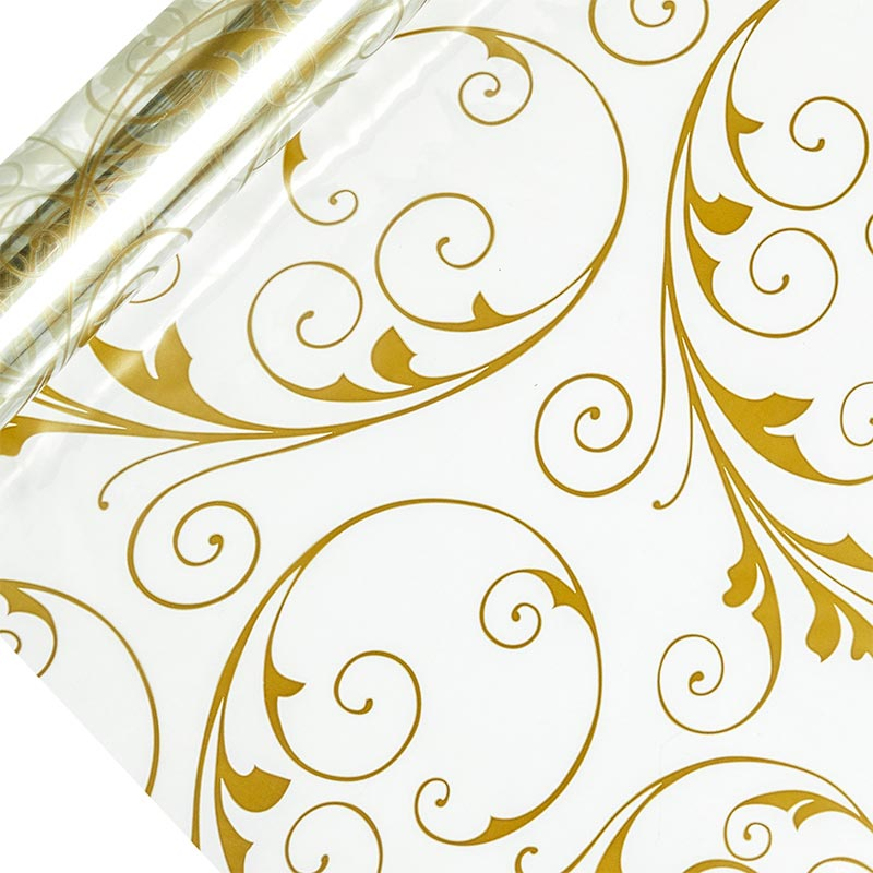 """Shimmer Gold Cello Film 40"""" X 100' by Paper Mart"""