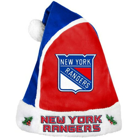 Forever Collectibles NHL 2015 Santa Hat, New York Rangers