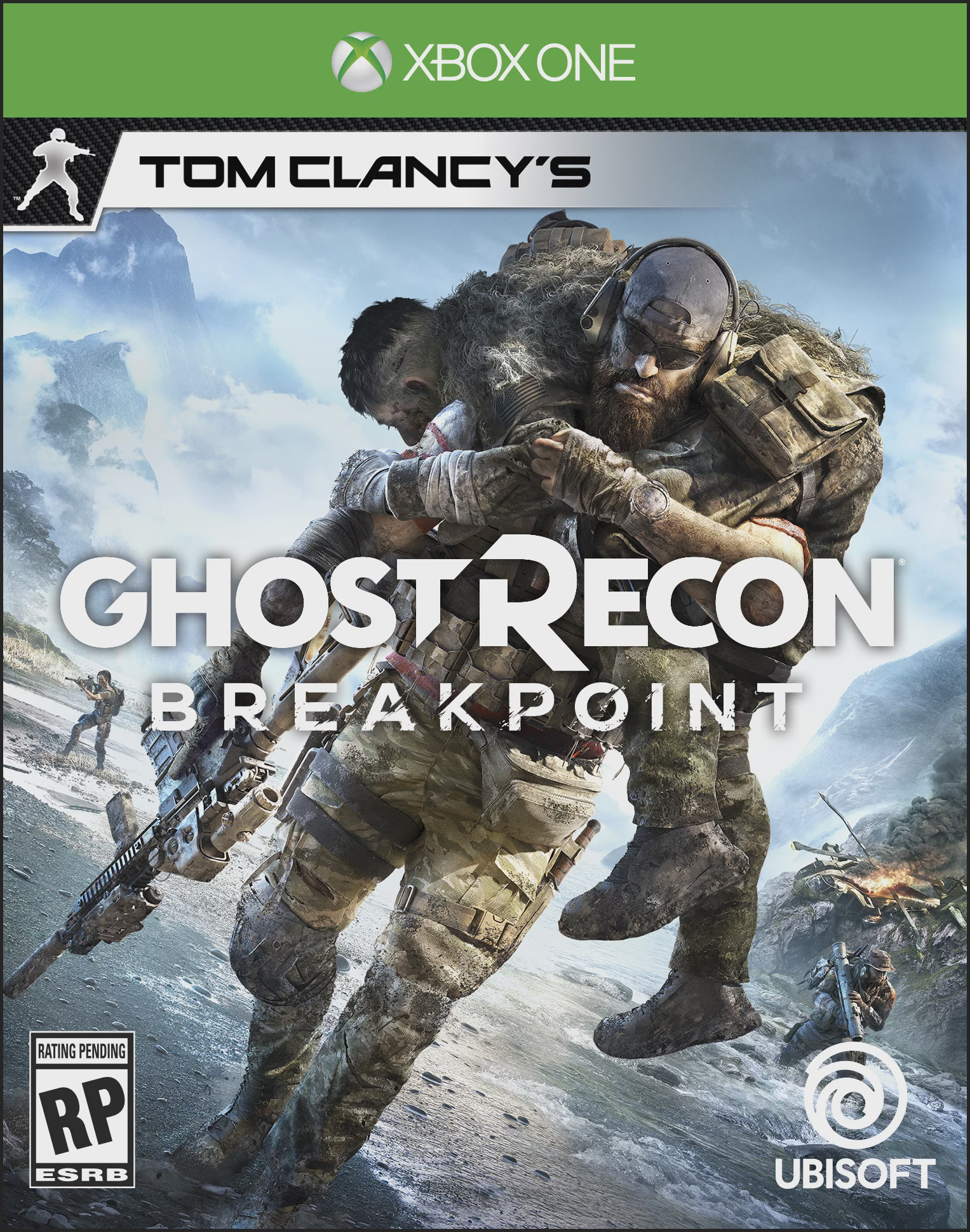 DAY 2 Tom Clancy's Ghost Recon Breakpoint, Xbox One, 887256090531