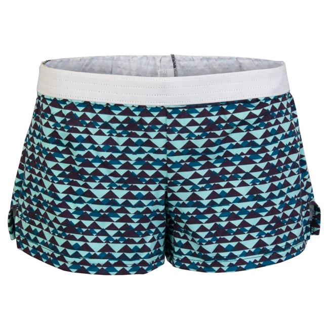 Juniors Printed Low Rise Shorts, Peaks & Valleys - Large - image 1 of 1